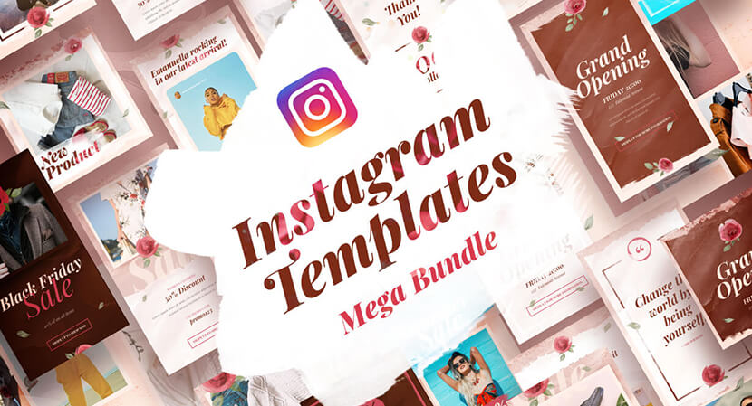 instagram templates collection