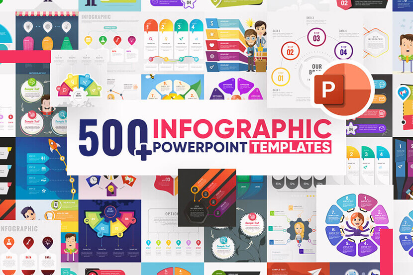 500+ Infographic Powerpoint Templates - Mega Bundle