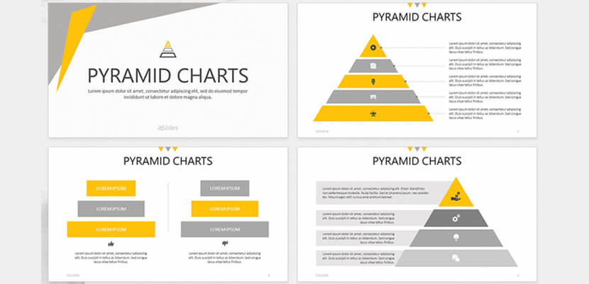 Pyramid Chart Free Powerpoint Infographic Template