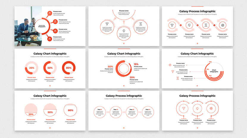 free minimalist powerpoint infographic template