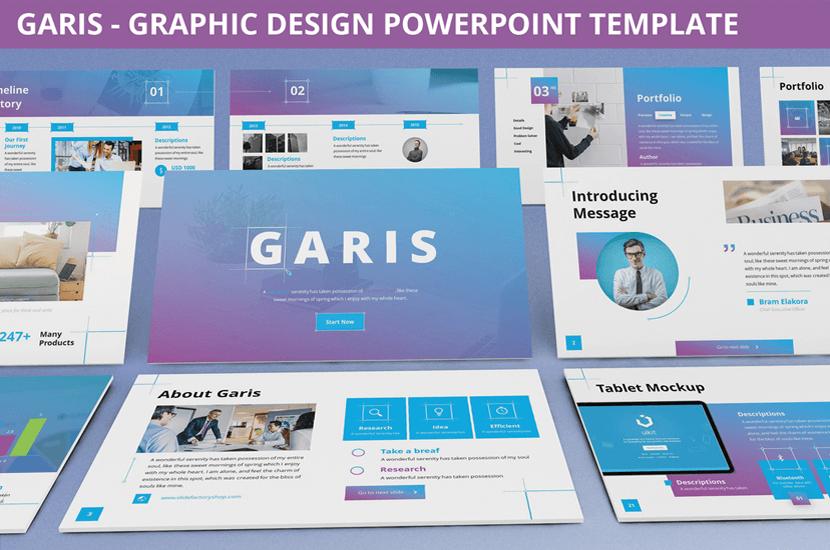 Garis Free Powerpoint Template PPTX