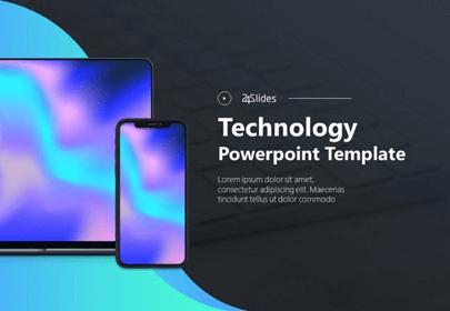 Tech Slide Deck Free Powerpoint Template
