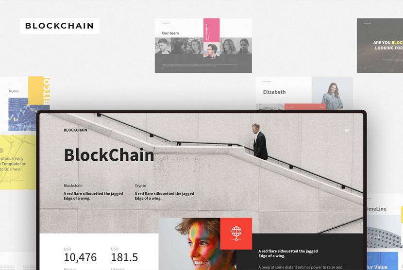 Blockchain Free Modern Powerpoint Template