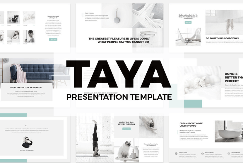 Taya Free Powerpoint Presentation Template
