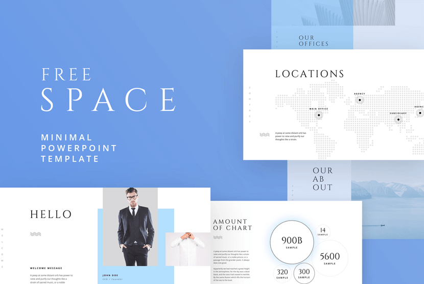 Space Free Powerpoint Template