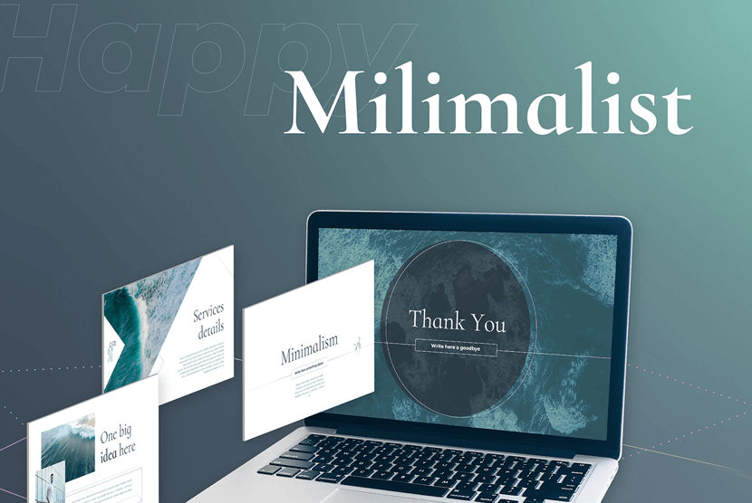 Minimalist Free Powerpoint PPT Template