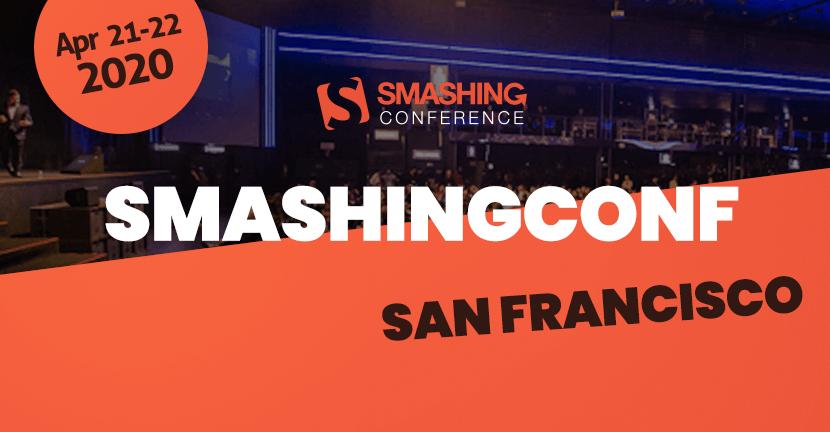 SmashingConf SF 2020