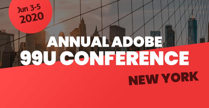 Annual Adobe 99U Conference