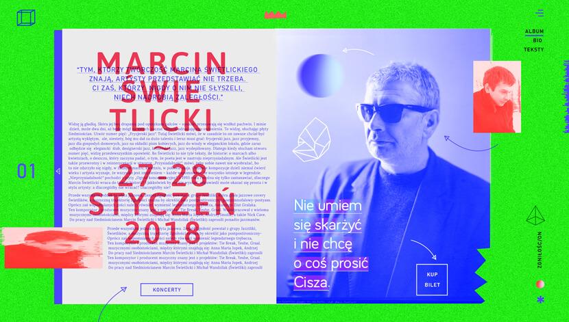Креативный абстрактный дизайн веб-сайта