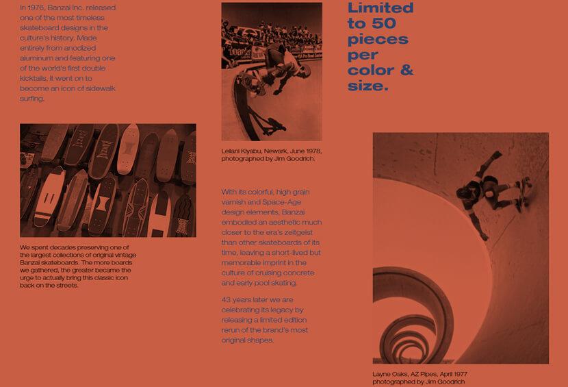 Пример дизайна монохромного сайта