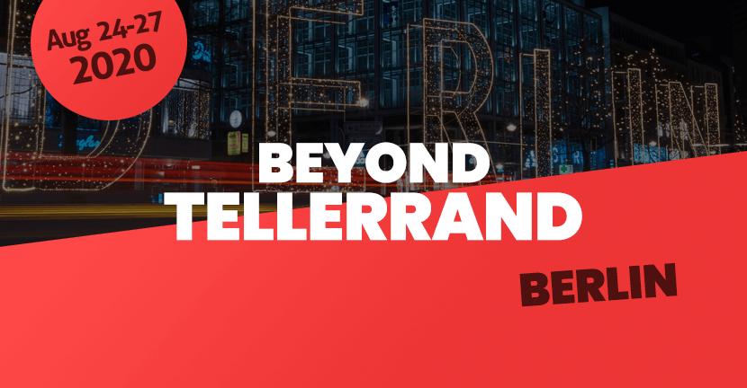 Beyond Tellerrand Berlin 2020