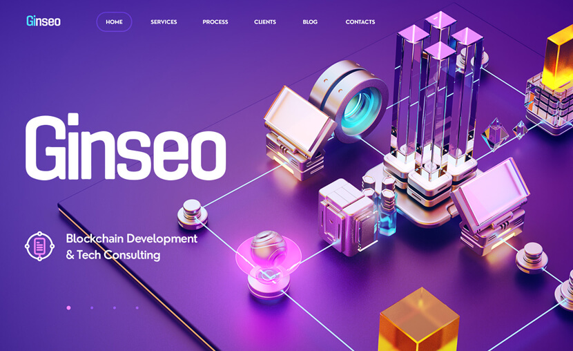 Ginseo Blockchain Development Design