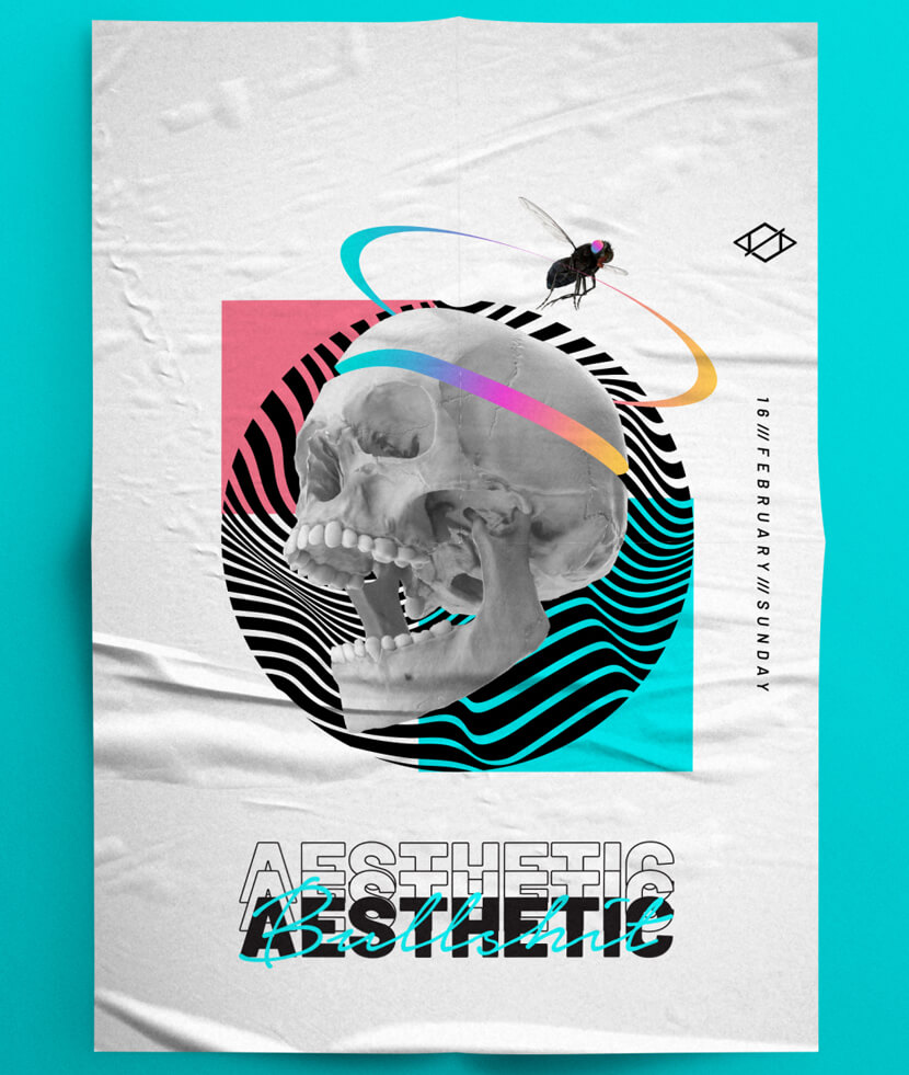 AESTHETIC POSTER DESIGN