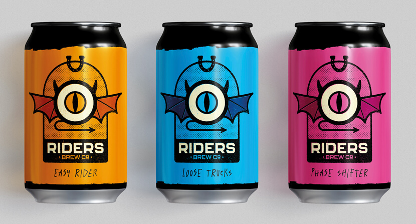Riders Brew Co Branding Concept