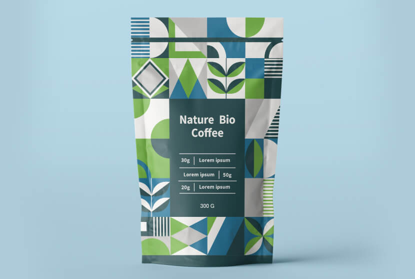 Package Design Bio Coffee 2020