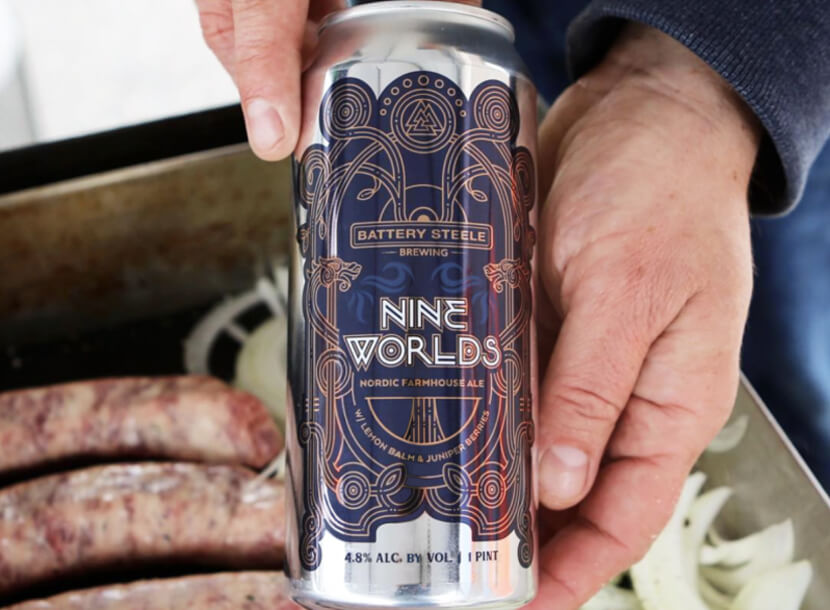 Nine Worlds Beer Design
