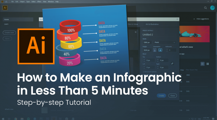 How to Make an Infographic in Less Than 5 Minutes [Step-by-step Tutorial]