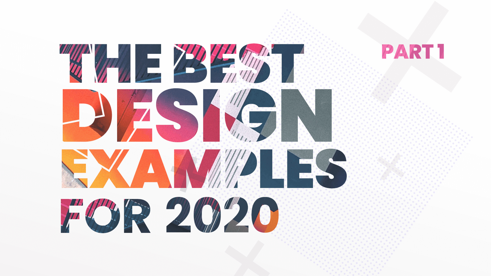 the best design examples for 2020