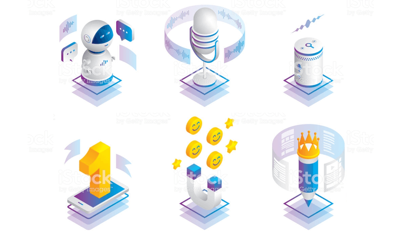 marketing trends isometric