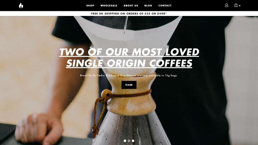 roastworks.co.uk - small business website design