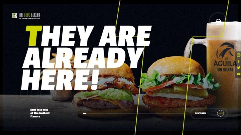 thegoodburger.com - small business website design