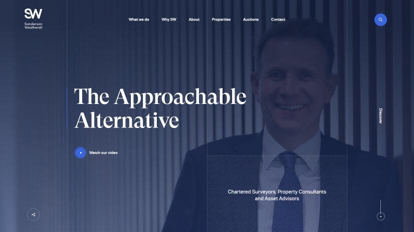 sw.co.uk - small business website design