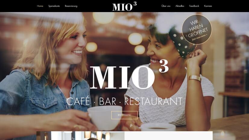 mio3.de - small business website design