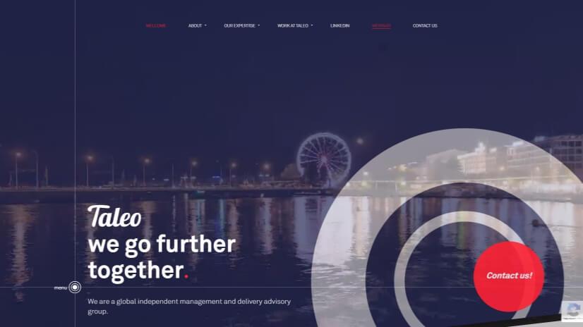 taleo-consulting.com - small business website design