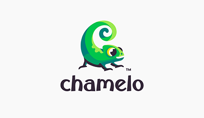 Chamelo animated logo