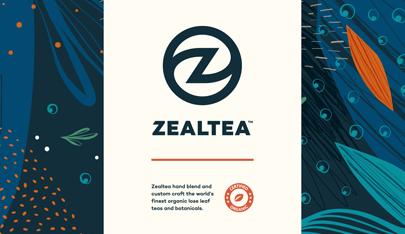 ZealTea Branding