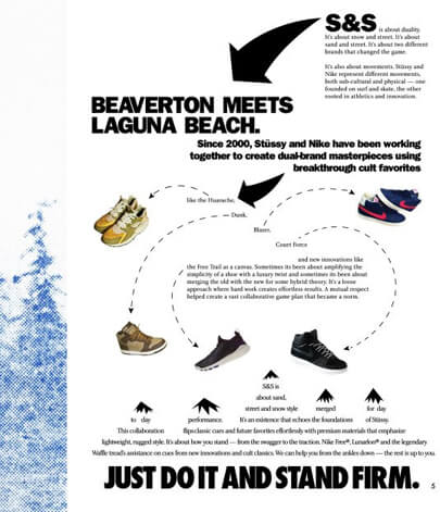 facebook infographic by Nike