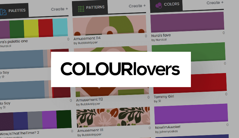 ColorLovers patterns