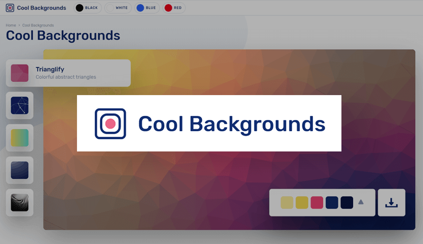 Cool Backgrounds Generator