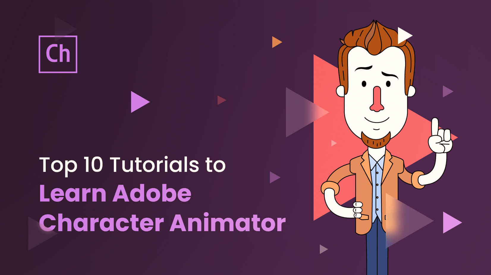 top 10 tutorials to learn adobe character animator
