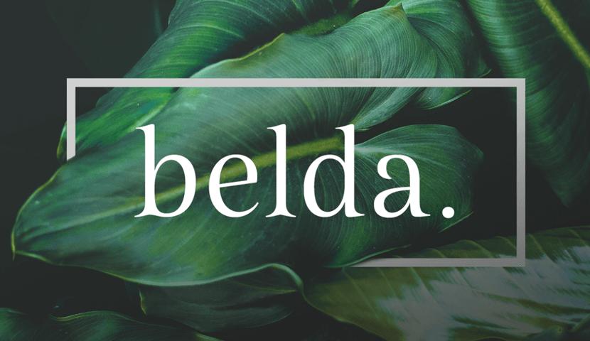 free Belda font