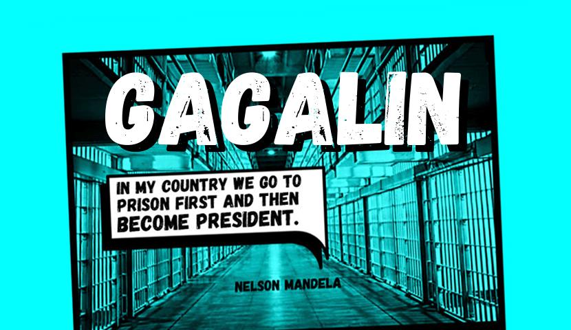 Gagalin free typeface
