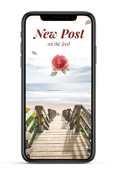 Share your new blog articles as story
