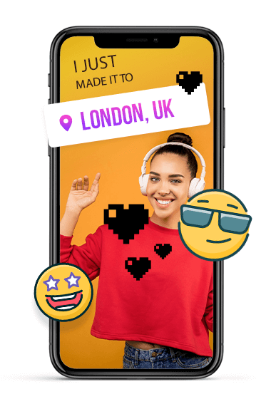 Add stickers and emojis to your stories