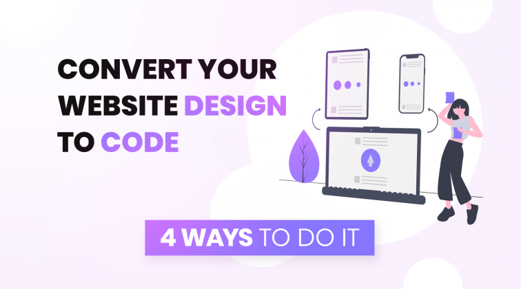 How to convert your website design to code