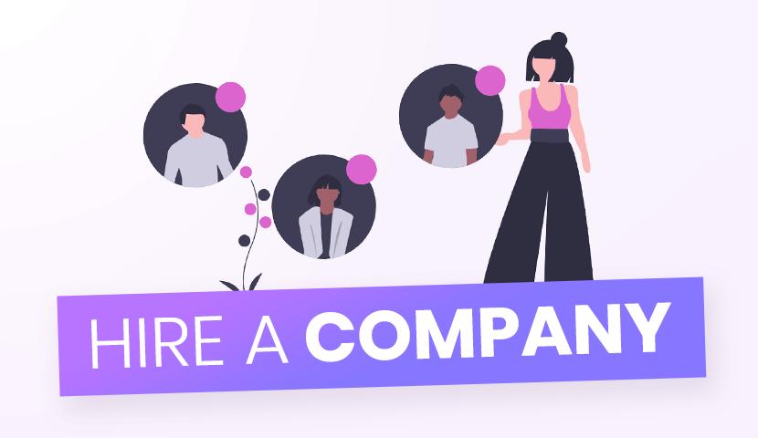 Hire a development company