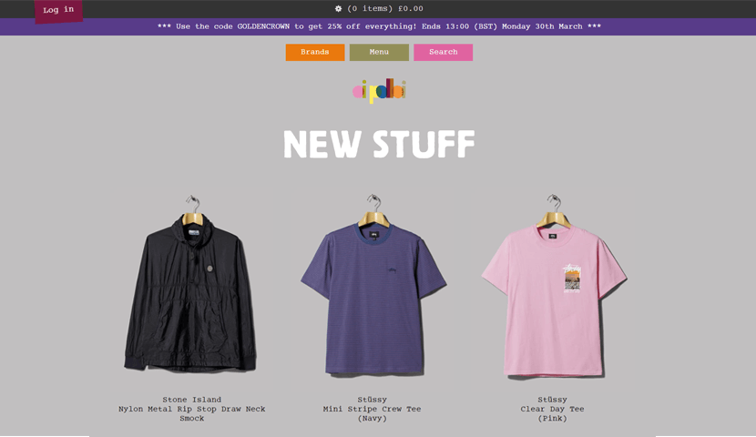 oipolloi creative ecommerce website