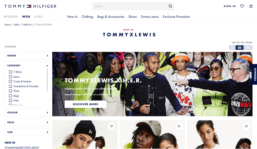 tommy website