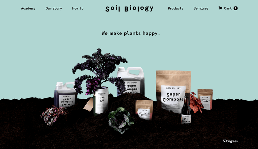 soilbiology selling products online platform