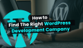 How to Find The Right WordPress Development Company for You