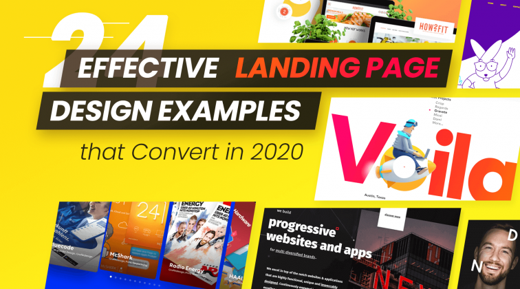 24 Effective Landing Page Design Examples That Convert in 2020