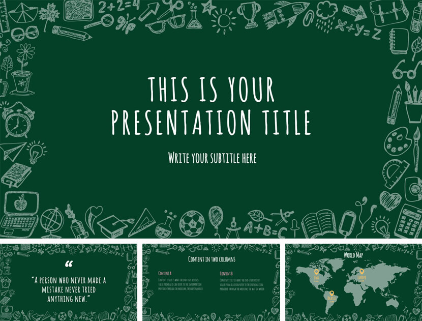 Elijah Free Teaching PowerPoint Template