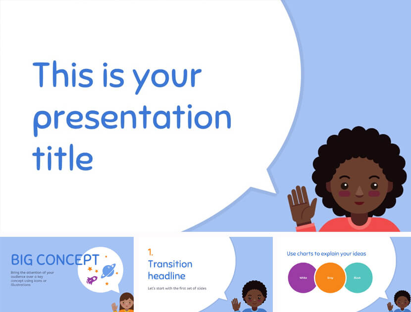 Lucius Free Teaching PowerPoint Template