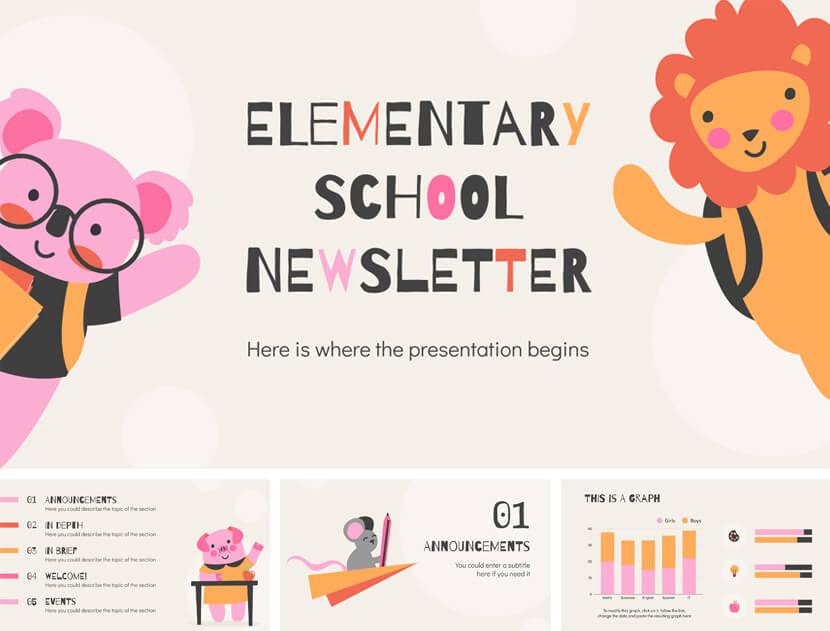 Elementary School Free PowerPoint Template