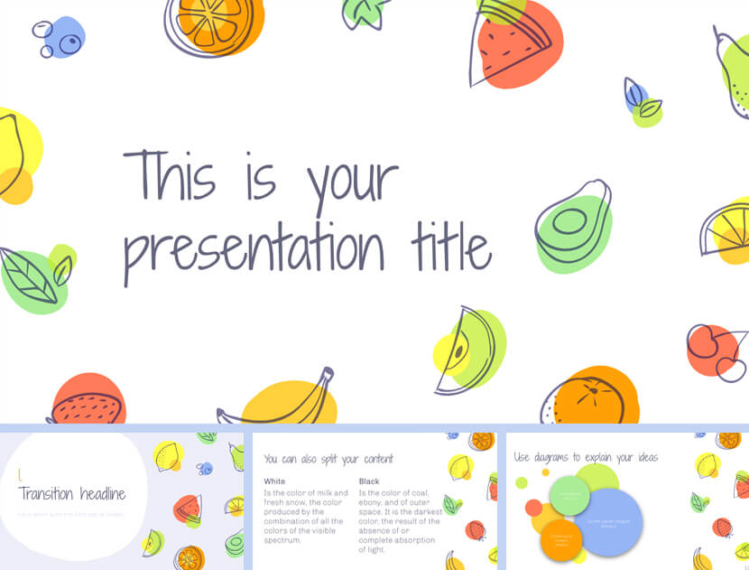 Aumerle Free Lesson PowerPoint Template for teachers