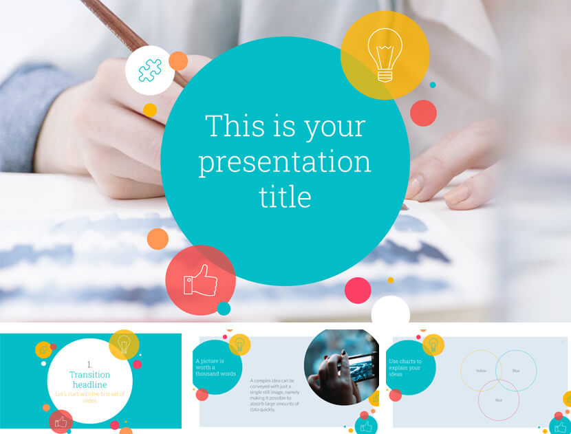 Kent Free School PowerPoint Template